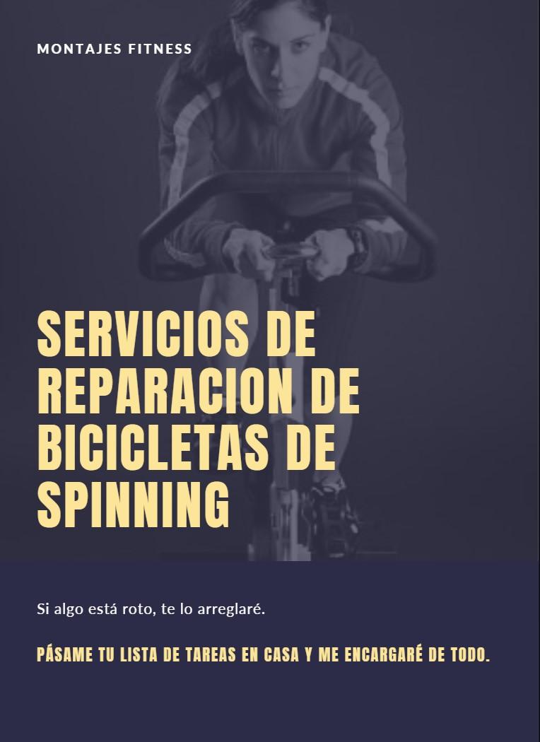 reparacion bicicletas de spinning