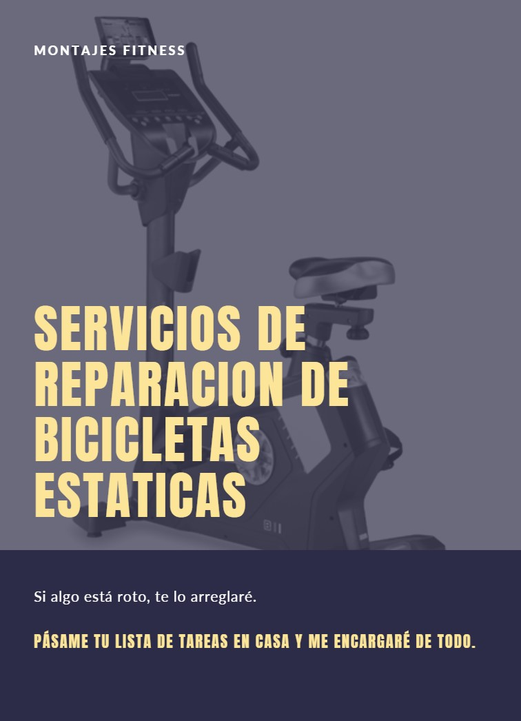 reparacion bicicletas estaticas
