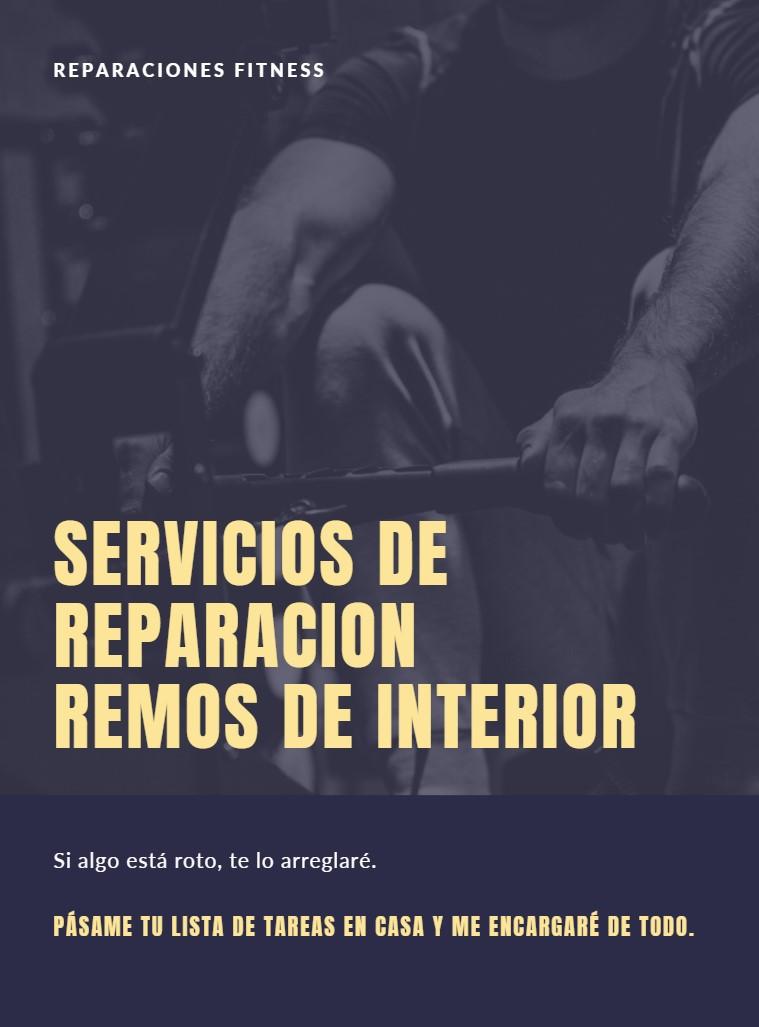 reparacion remos interior